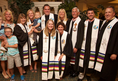 Family Firsts at Ordination Service