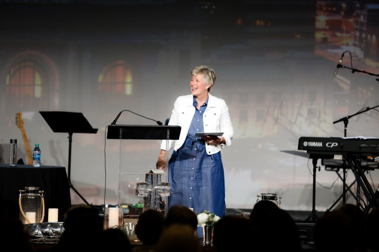 Women Ministries executive director Meagan Gillan encouraged women to let the Jesus quench their spirits.