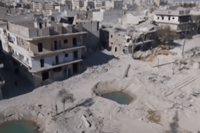 Five for Friday: Aleppo Destruction, Creepiness Theory, Ramen Noodles