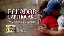 Broadcast Highlights Ecuador Covenant Earthquake Recovery Work