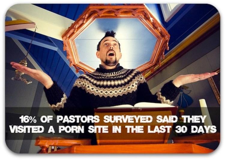 pastors use porn