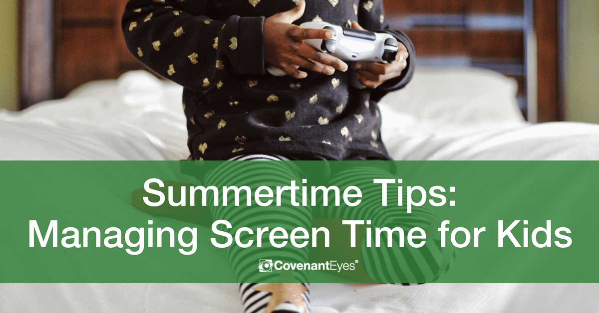 Summertime Tips_ Managing Screen Time for Kids