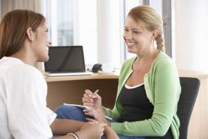 Young Woman Having Counseling Session