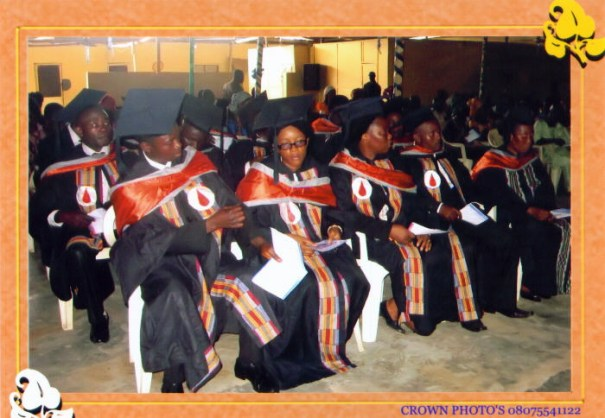 Cross section of the graduates