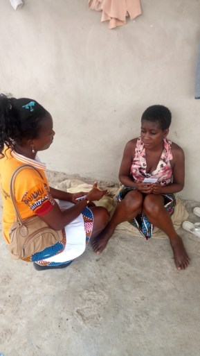 Della praying for the daughter of a fetish priest - Kwabenya - Oct 2017