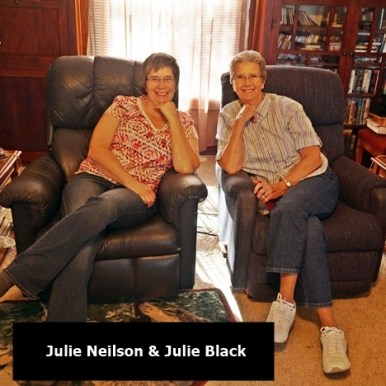 Julie N and Julie B at Nielson's
