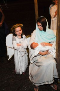 Christmas Eve Live Nativity - Mary & Angel