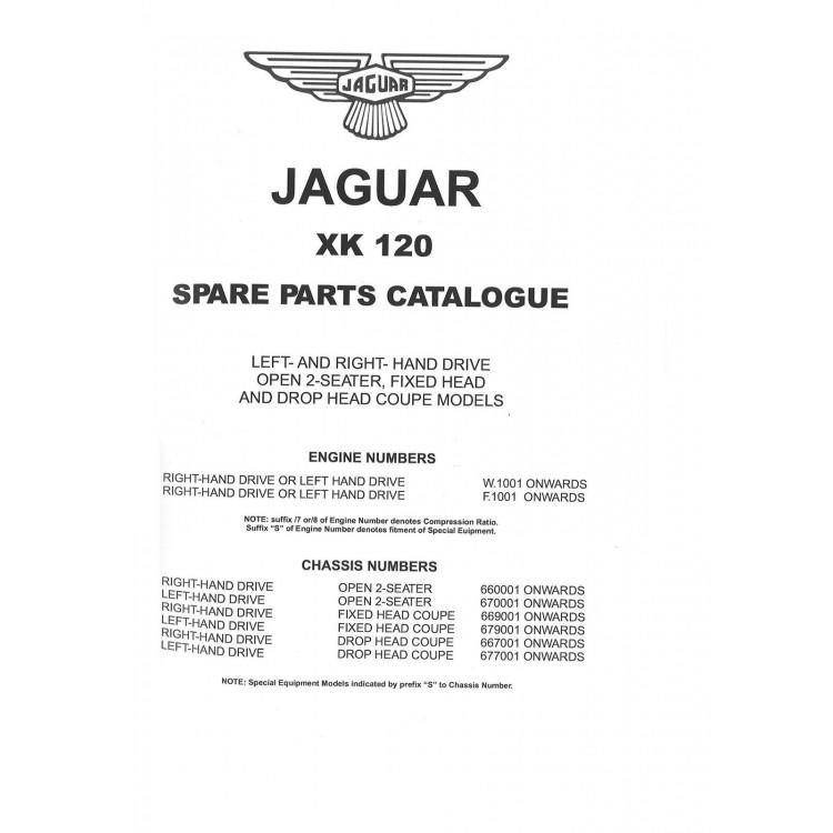 Jaguar Xk120 Spare Parts Catalogue | Reviewmotors co