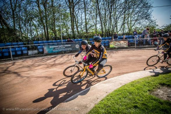 Ben Wells (inside) took the U14 victory for Coventry