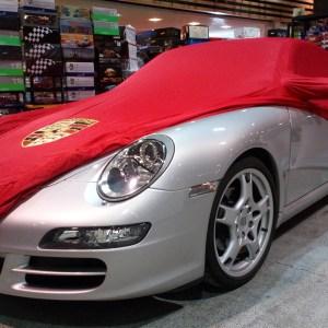 Porsche 997 satin rouge