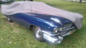 Cadillac coupé de ville 59 XXL