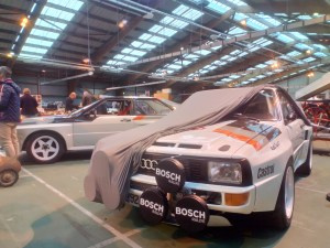 Audi Quattro taille XL