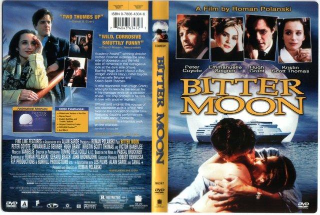 Bitter Moon Region 1 Front Back