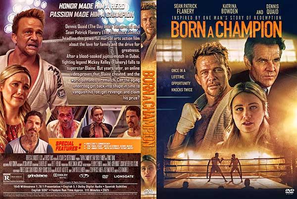 Born a Champion (2021) DVD Cover