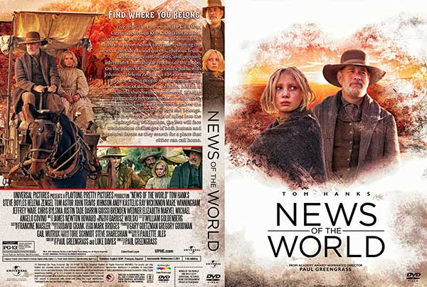 News of the World (2021) DVD Cover