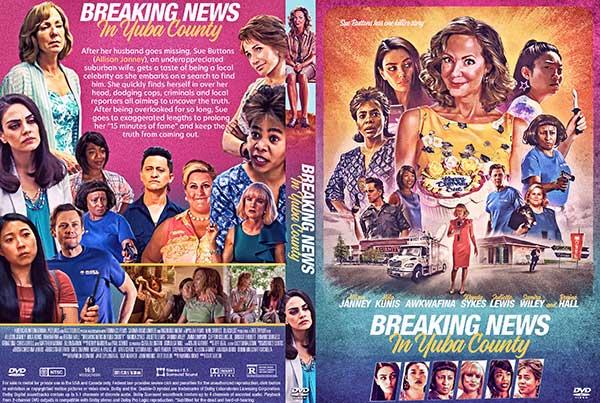 Breaking News in Yuba County (2021) DVD Cover
