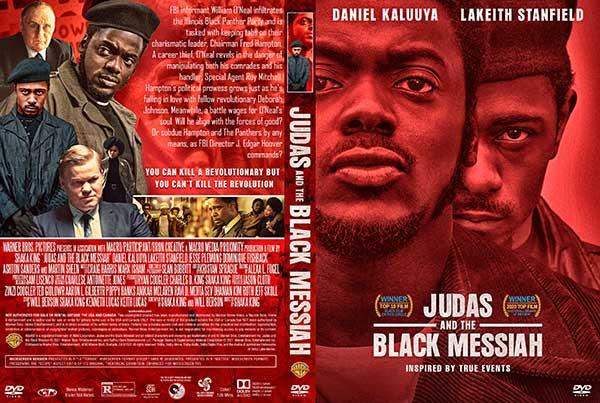Judas and the Black Messiah (2021) DVD Cover