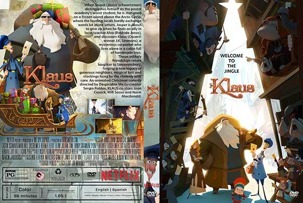 Klaus (2019) DVD Cover