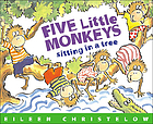 Cover of Five Little Monkeys Sitting in a Tree by Christelow
