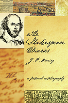 The Shakespeare diaries : a fictional autobiography