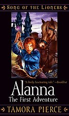 Cover of paperback edition of Alanna: The First Adventure by Tamora Pierce