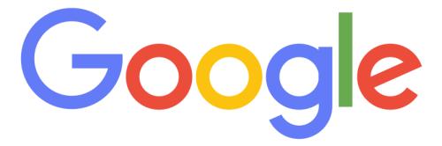 fixed google logo font