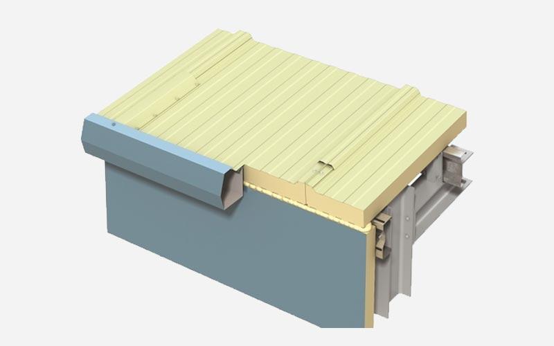 Kingspan Lo-Pitch roof panel