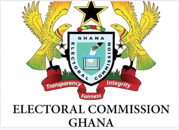Below is the Electoral Commission's Current Logo