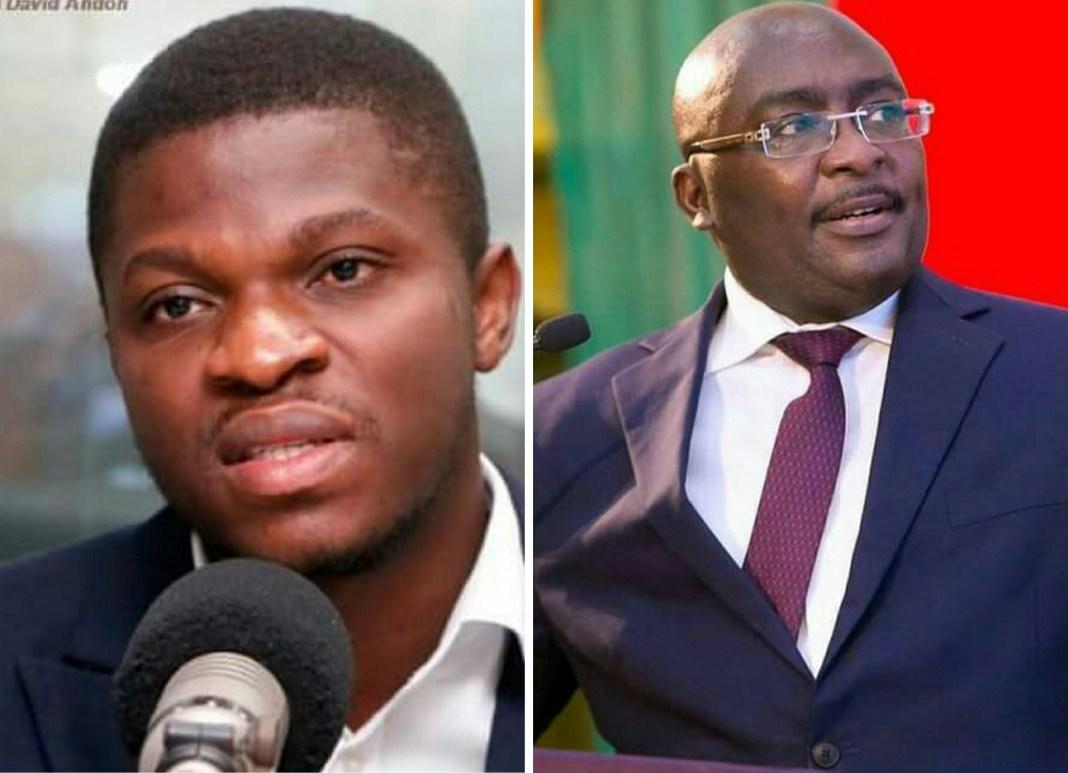 Lawyer Sammy Gyamfi and H.E Dr. Mahamudu Bawumia