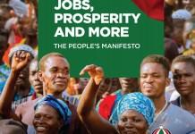 The NDC'S People's Manifesto