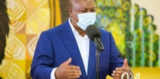 John Dramani Mahama speaks on NCA