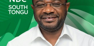 South Tongu MP - Wisdom Kobena Mensah Woyome