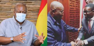 John Mahama, Nana Akufo Addo and NAM 1