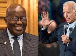 Nana Addo-Dankwa Akufo Addo and Joe Biden