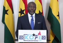 Mr. Kofi Koranteng ( Independent Presidential candidate aspirants )