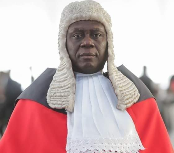 Supreme Court Chief Justice, Justice Anin Yeboah