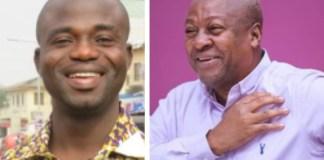 Manasseh Azure Awuni and John Dramani Mahama