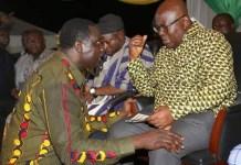 Dr. Yaw Osei Adutwum and H.E Nana Addo Dankwa Akufo-Addo