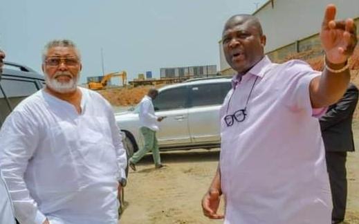 Jerry John Rawlings and Mr. Ibrahim Mahama