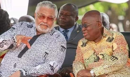 Jerry John Rawlings and Nana Addo Dankwa Akufo-Addo