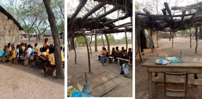 Amedzope Basic School in the Afram Plains South District