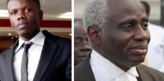 Boadu Emmanuel and Lawyer Tsatsu Tsikata