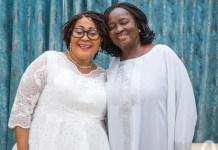 Lordina Mahama and Prof. Naana Jane Opoku-Agyemang