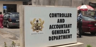 Controller and Accountant-General's Department (CAGD)