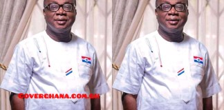 Mr. Freddie Blay, National Chairman for the New Patriotic Party