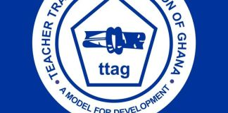 Teacher Trainees' Association of Ghana (TTAG) Logo