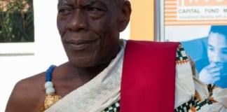 The late Kwasinyi Agyemang IV, Dufia of Mafi Adidome