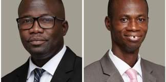 Dr. Raymond Dziwornu and Dr. Joseph Kwadwo Tuffour
