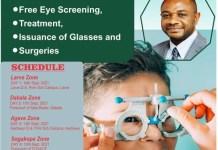 South Tongu Free Eye Screening programme