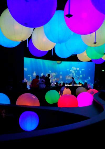 Light Ball Orchestra, Art Science Museum